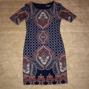 Antonio Melani Multi Colored Sheath Dress | Size 2